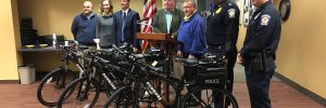 Patrol Bikes Donated to Dunmore PD
