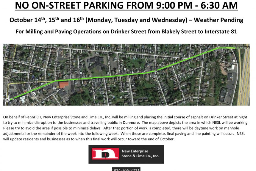 NO ON-STREET PARKING FROM 9:00 PM – 6:30 AM