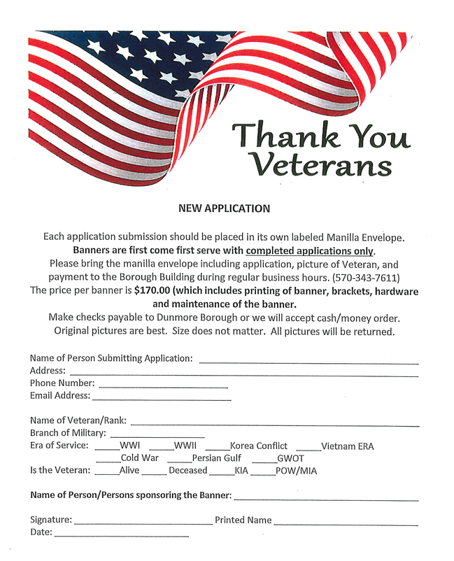 Hometown Heroes Application